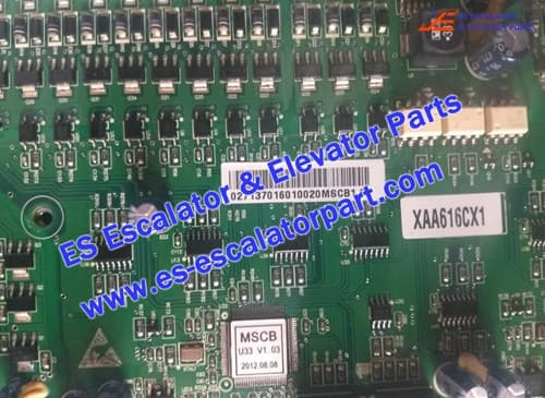 OTIS Escalator Parts XAA616CX1 PCB
